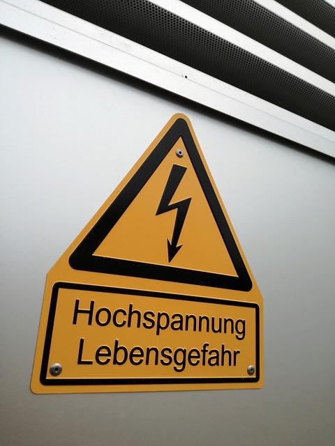 """שלט מחזיר אור 10/20 ס""""מ ארון חשמל"""